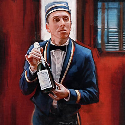 Champagne? - Tim Roth And Four Rooms Original