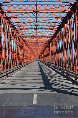 Photograph - Chamusca Bridge In Portugal by Angelo DeVal