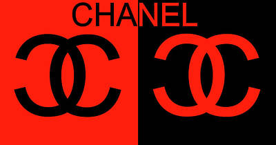 Actors Mixed Media - Chanel Black And Red by Dan Sproul