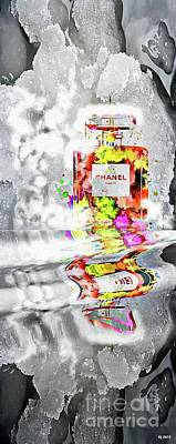 Still Life Royalty-Free and Rights-Managed Images - Chanel Reflections by Daniel Janda