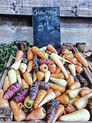 Photograph - Chantaney Carrot Mania by Dorothy Berry-Lound