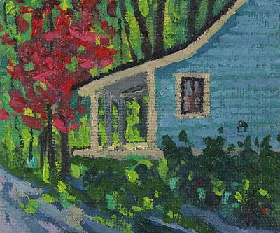 Painting - Chantry Breezes Garden Cottage by Phil Chadwick