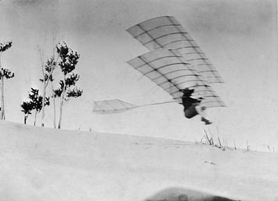 Photograph - Chanute Flight by Hulton Archive