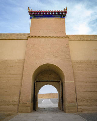 Photograph - Chaozong Door Guan City Jiayuguan Gansu China by Adam Rainoff