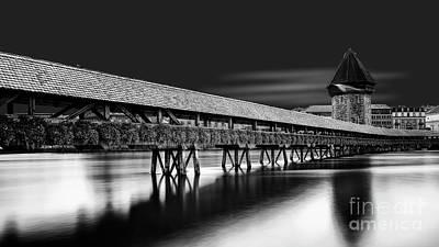 Erik Brede Rights Managed Images - Chapel Bridge Royalty-Free Image by Erik Brede
