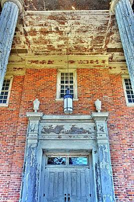 Photograph - Chapel Of Hope Columbia State Hospital Entrance by Lisa Wooten