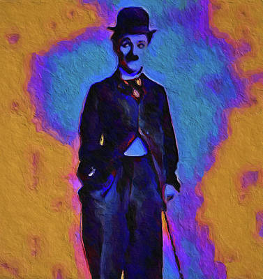 Painting - Chaplin by Dan Sproul
