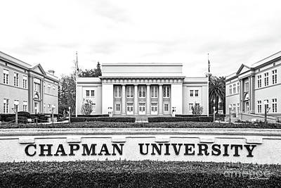 Photograph - Chapman University Memorial Hall by University Icons