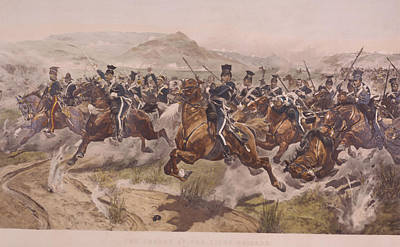 Charge Of The Light Brigade Art Print by Fotosearch