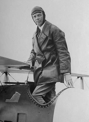 Photograph - Charles A. Lindbergh by Time Life Pictures