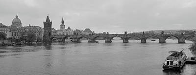 Photograph - Charles Bridge In Prague by Mark Duehmig