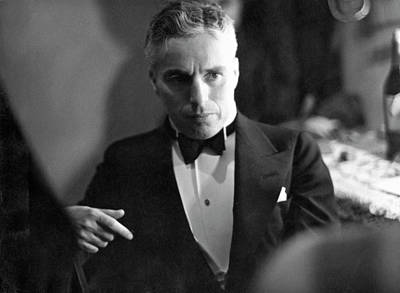 Photograph - Charles Chaplin by Alfred Eisenstaedt