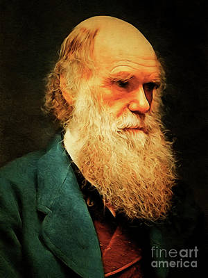 Photograph - Charles Darwin 20180921 by Wingsdomain Art and Photography