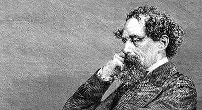 Photograph - Charles Dickens by Doc Braham