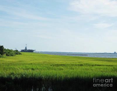 Photograph - Charleston 1 Cooper River by Lizi Beard-Ward