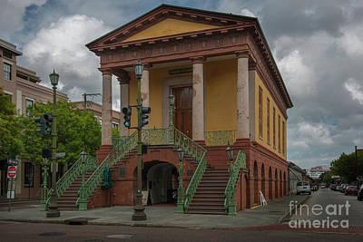 Photograph - Charleston Greek Revival Landmark Bulit In 1841 by Dale Powell