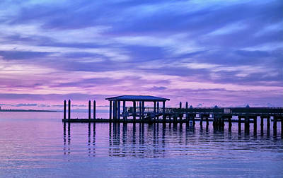 Royalty-Free and Rights-Managed Images - Charleston Harbor Sunrise by Jon Glaser