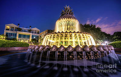 Photograph - Charleston Pineapple Fountain by David Smith