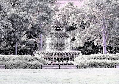 Photograph - Charleston Sc Fountain by Merle Grenz