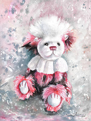 Painting - Charlie Bear Coconut Ice by Miki De Goodaboom