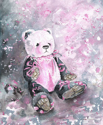 Painting - Charlie Bear Sylvia by Miki De Goodaboom