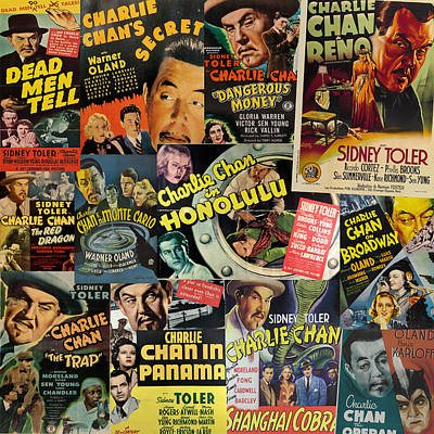 Photograph - Charlie Chan by Andrew Fare