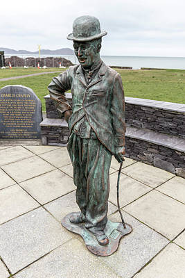 Photograph - Charlie Chaplin Statue Waterville Ireland  by John McGraw