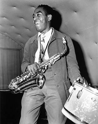 Photograph - Charlie Parker Performing by Michael Ochs Archives