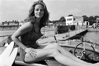 Photograph - Charlotte Rampling by Philip Townsend