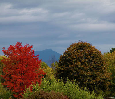 Photograph - Charlotte Vermont View Of Camels Hump by Jeff Folger