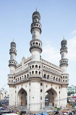 India Photograph - Charminar Monument In Hyderabad by Jasper James