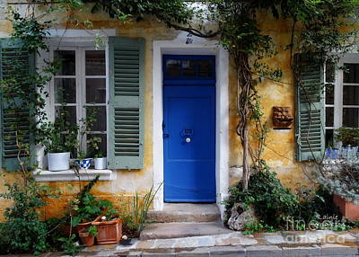 Photograph - Charming Village House by Lainie Wrightson