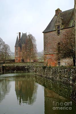Photograph - Chateau De Carrouges by Olivier Le Queinec