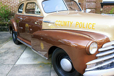 Photograph - Chatham County Police Savannah by John Rizzuto