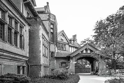 Photograph - Chatham University Porte Cochere  by University Icons