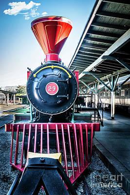 Photograph - Chattanooga Choo-choo At The Station by David Levin