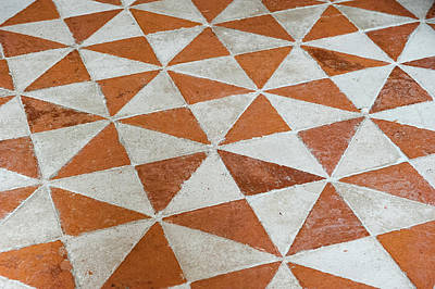 Photograph - Checkered Floor by Helen Northcott