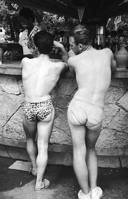 Rear View Photograph - Cheeky Briefs by Kurt Hutton