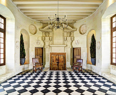 Photograph - Chenonceau Ball Room Full by Weston Westmoreland