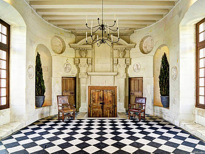 Photograph - Chenonceau Ball Room by Weston Westmoreland
