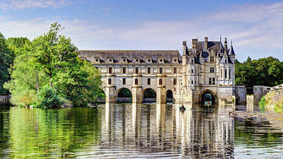 Photograph - Chenonceau From The East - Short by Weston Westmoreland