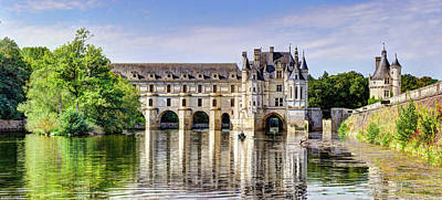 Photograph - Chenonceau From The East by Weston Westmoreland