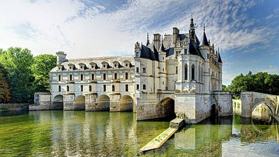 Photograph - Chenonceau From The North Bank Short by Weston Westmoreland