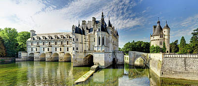 Photograph - Chenonceau From The North Bank by Weston Westmoreland