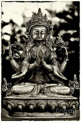 Photograph - Chenrezig Bodhisattva by Lita Kelley