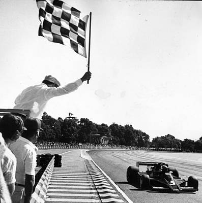 Photograph - Chequered Flag by Keystone