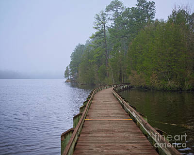 Photograph - Cheraw Boardwalk 1 by Patrick M Lynch