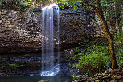 Photograph - Cherokee Falls by Jack Peterson