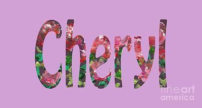 Digital Art - Cheryl by Corinne Carroll