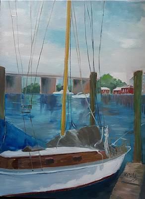 Painting - Chesapeake Bay by Katherine Cobb